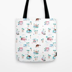 Summer houses Tote Bag