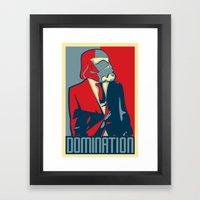 Obama Storm Trooper -Star Wars Framed Art Print