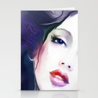 woman3 Stationery Cards