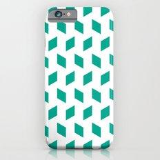 rhombus bomb in emerald Slim Case iPhone 6s
