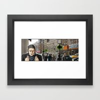 Pursuit Framed Art Print
