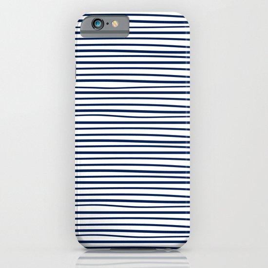 Sailor Tee - Navy iPhone & iPod Case