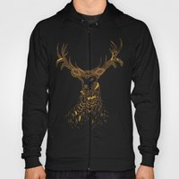 Tribal Deer Hoody