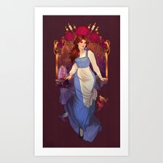 Tale As Old As Time Art Print
