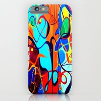 iPhone & iPod Case featuring Confrontation II by takingachancexo