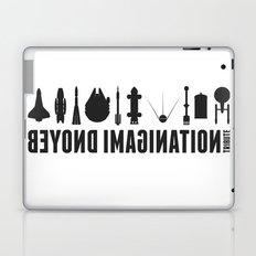 Beyond imagination: Sputnik 2 postage stamp  Laptop & iPad Skin