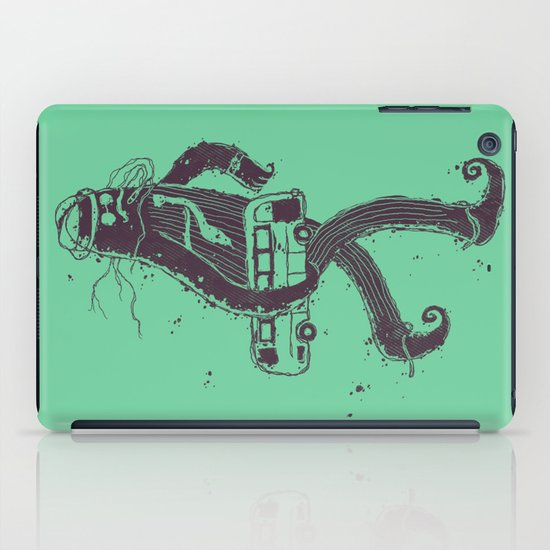 I Hate Taking The Bus To Work iPad Case
