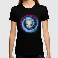 The Truth Is Out There Womens Fitted Tee Black SMALL