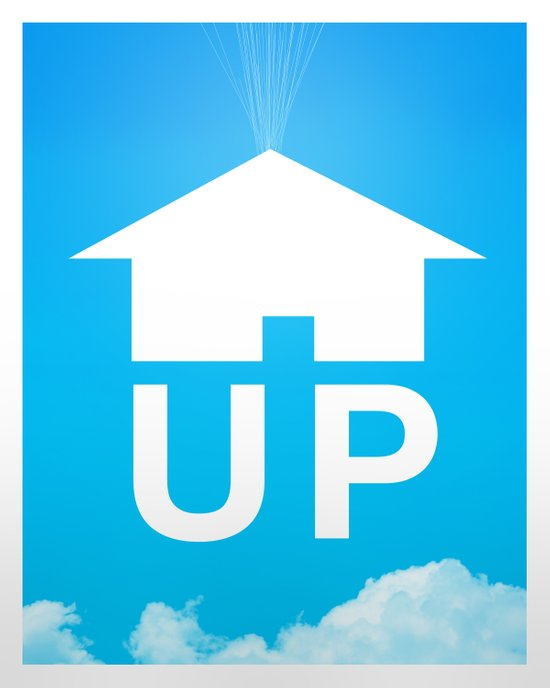 Up Poster Canvas Print