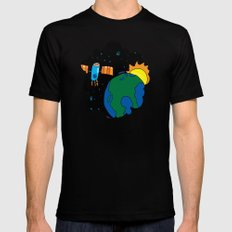 the other window Black Mens Fitted Tee SMALL