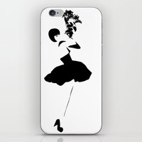 Black Swan | Ballerina | Dancer  iPhone & iPod Skin