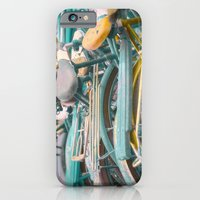 iPhone & iPod Case featuring Bicicletta Tangle by Maureen Anne