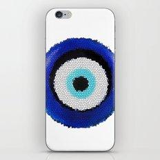 Blue eye Luck iPhone & iPod Skin