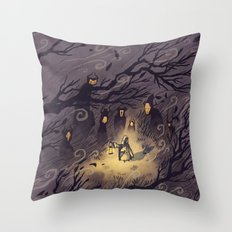 Could It Be The Wind? Throw Pillow
