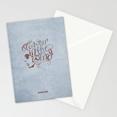 BOB DYLAN, BLOWIN' IN THE WIND Stationery Cards