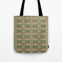 Southwest Victorian Glitch Tote Bag