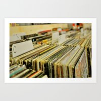 Come Put Your Records On Art Print
