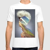 Haircut 3 Mens Fitted Tee White SMALL