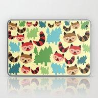 The Bandit Raccoons Laptop & iPad Skin