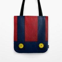Video Game Poster: Plumber Tote Bag