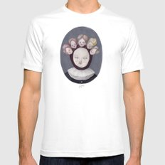 Dutch Disease SMALL White Mens Fitted Tee