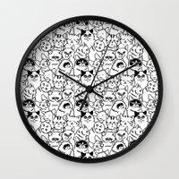 Oh Cats Wall Clock