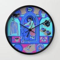 Ye Oldé Grandma Triptyc… Wall Clock