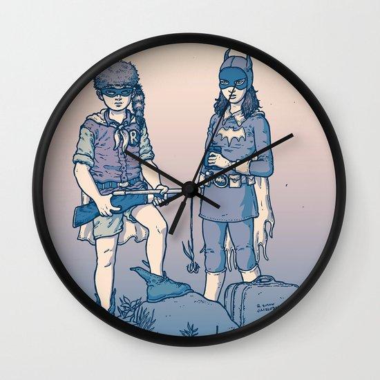 Moonrise Gotham Wall Clock