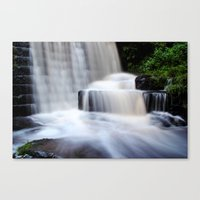 Top Waterfall Canvas Print