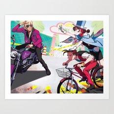 People Park Art Print