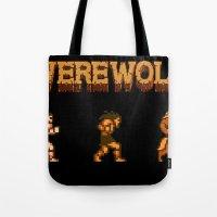 Unleash The Beast- Werew… Tote Bag