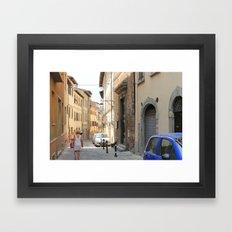 Italian Street 2 Framed Art Print