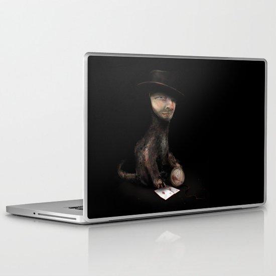 Charles the cat Laptop & iPad Skin