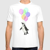 I Believe I Can Fly Mens Fitted Tee White SMALL