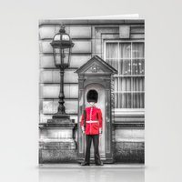 Buckingham Palace Queens Guard Stationery Cards
