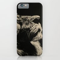 iPhone & iPod Case featuring The Once and Future King (Lion) by Nathan Cole