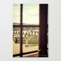 Windows of Versailles II Canvas Print
