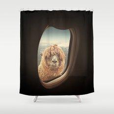 QUÈ PASA? Shower Curtain
