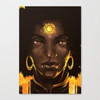 Look Into The Sun 2.0 Canvas Print