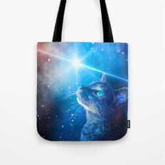 Sir Parkers Voyage into Space Tote Bag