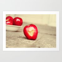 An Apple a Day... Art Print