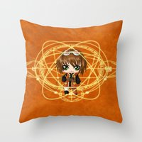 Chibi Rita Mordio Throw Pillow