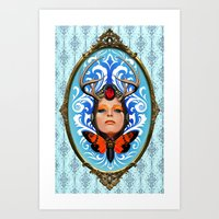 Cicada Queen Art Print