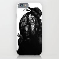 Leonardo Black And White iPhone 6 Slim Case