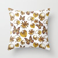Fall Pattern Throw Pillow
