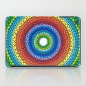 Happy Rainbow Mandala iPad Case