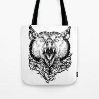 Beware The Owlbear Tote Bag