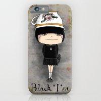 Black Tea Girl iPhone 6 Slim Case