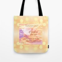 If God Is For Us Tote Bag