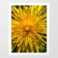 Yellow Love Art Print